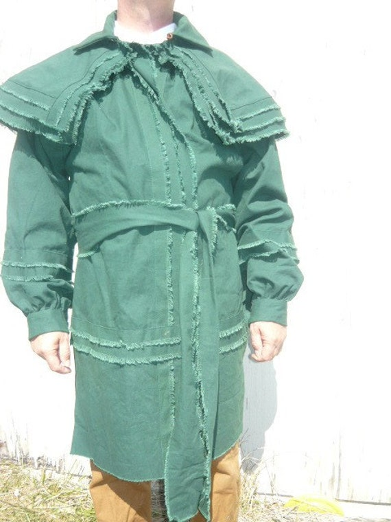 Hunting Frock  size Medium only. Hunter green canvas.
