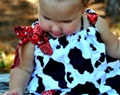Cowgirl Pillowcase Dress