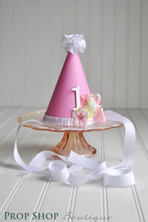 Girls Flower Garden Party Hat