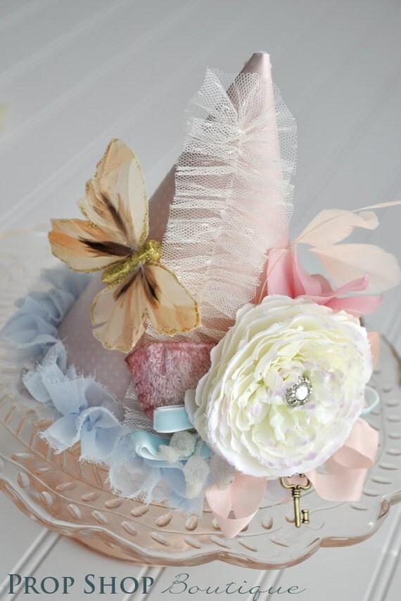 Vintage Alice in Wonderland Birthday Party Hat Collection