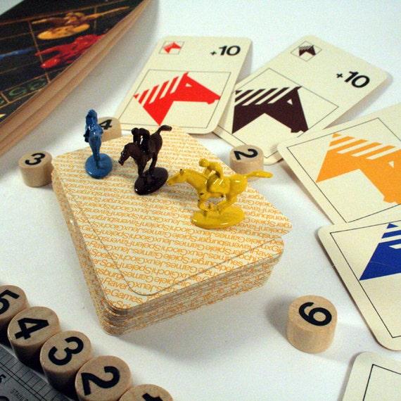 Hallmark Vintage Jockey Game Parts