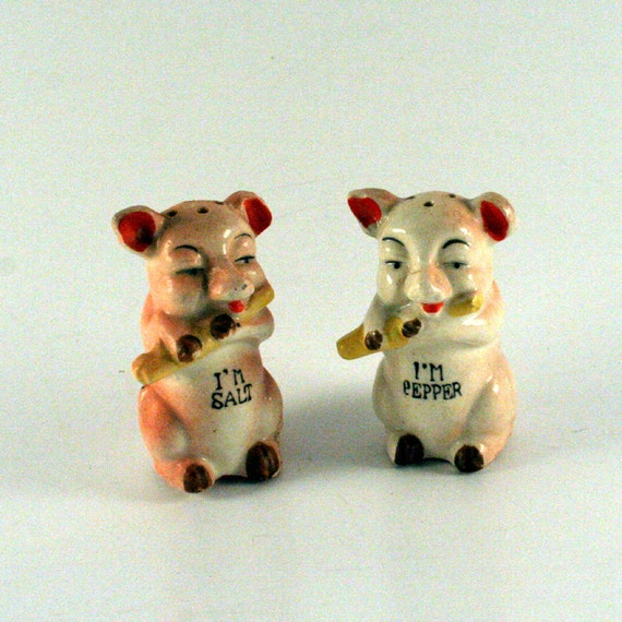 Piggy Salt and Pepper Shaker