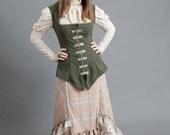 Candlestick Plaid Ruffled Skirt - Custom Made for You