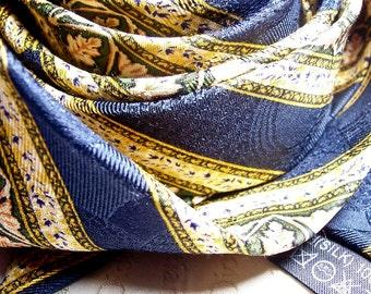 Vintage Christian Dior silk tie, Valentine's