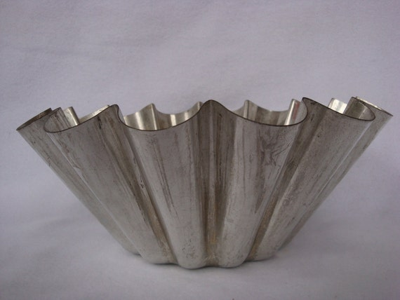 Vintage Large Brioche Mold from France