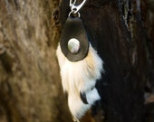 Real Coyote Paw Keychain