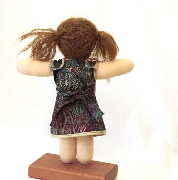 Waldorf Doll Dress 12-14 Inch Doll