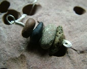 Beach Stone Stack Necklace