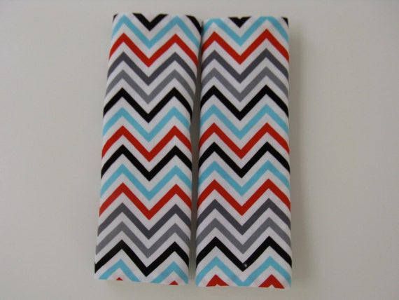 Celebration Chevron Car Seat Strap Covers