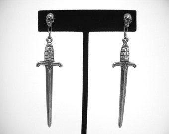Skull & Sword Earrings