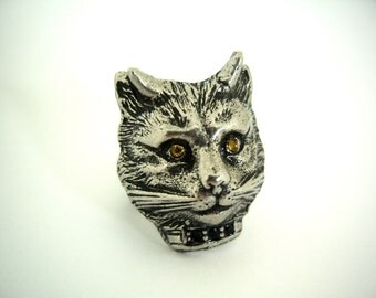 Devil Kitty Ring