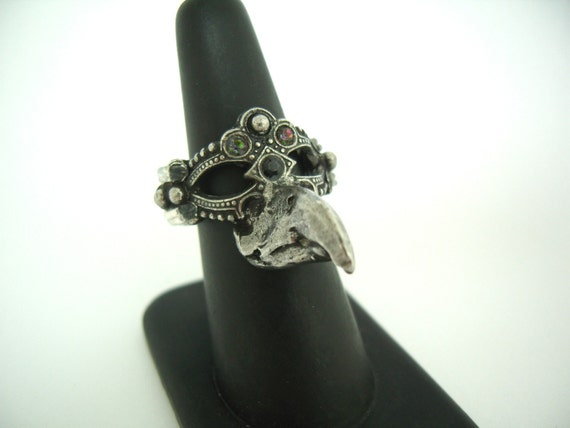 Bird Mask Ring