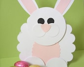 Easter bunny favour gift bag