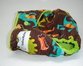 DINO DANCE One Size Cotton Hemp Fitted Cloth Diaper