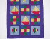 Ocean Voyage Quilt Pattern - Learn Paper Piecing Digital PDF