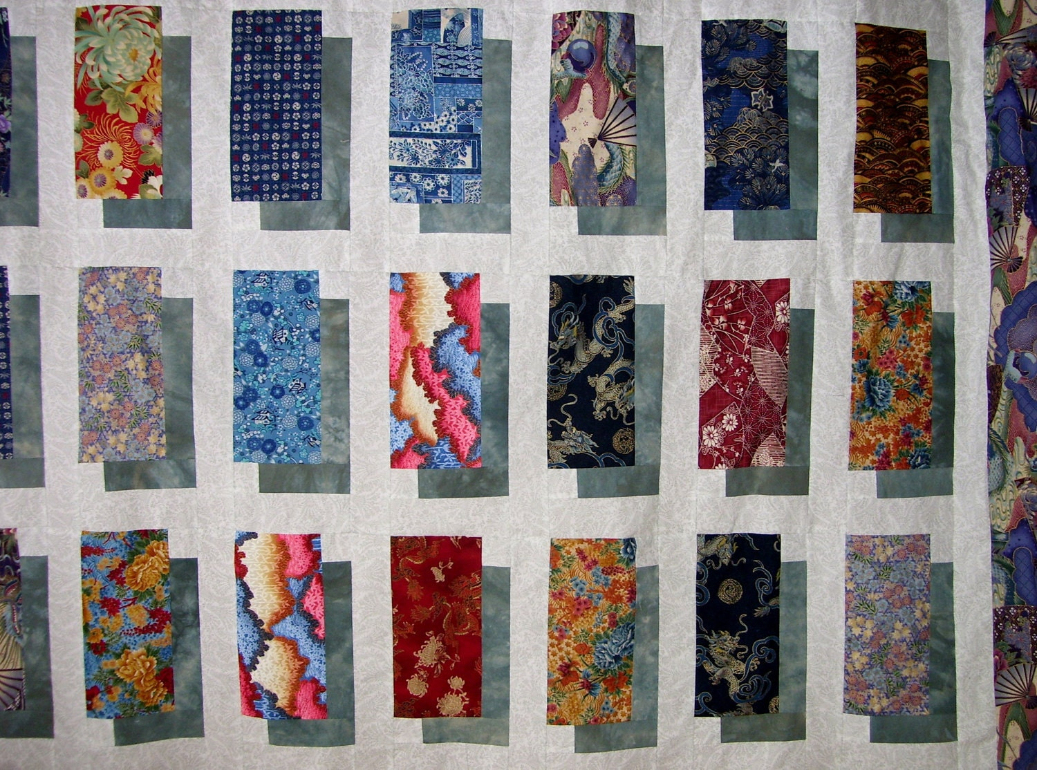 PDF Digital Quilt Pattern Shadow Boxing Patchwork Quilt