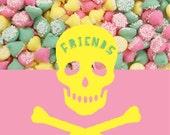 Melty Mints Original Design Friendship Card
