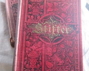 Rare Antique Book 1844 Stifters Werkes 2 Volume Set