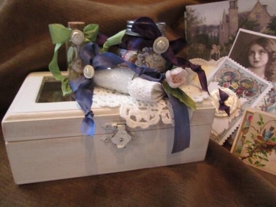 Junkin Gypsies Le Petit Tresor Inspiration Box A Little Taste Of Spring