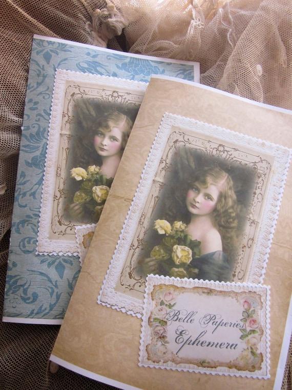 Mes Chers Petits-Belle Paperie et Ephémères-For Cardmaking,Collage,Journaling & Scrapbooking