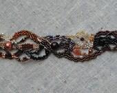 Sedona Beadweaving Bracelet - Reserved for Ruth