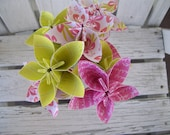 Original Meredith Paper Flowers - Origami - Bouquet
