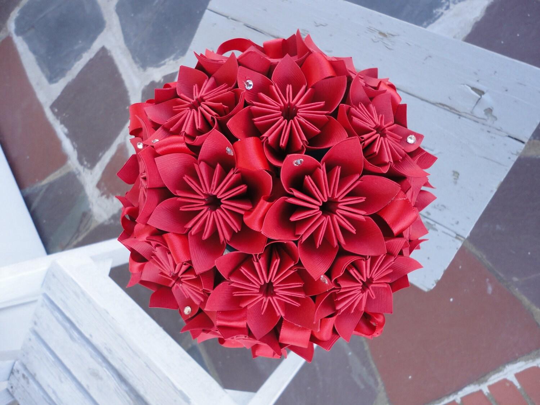 Origami Kusudama Flower Bouquet