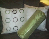 CIRCLES - Luxury Fun PILLOWS, sewn by hand in USA,