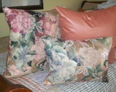 Fantasy Flowers - Luxury PILLOWS, hand made in USA