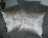 Field of Flowers - Luxury PILLOWS, hand made in USA