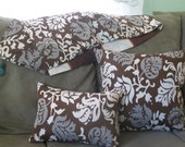 Spring Flowers - Luxurious PILLOW, hand made in USA