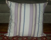 Stripes On The Floor - Floor PILLOW, hand made in USA