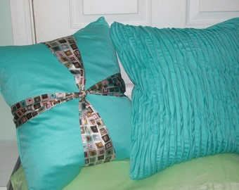 SEASCAPE - Luxurious PILLOWS - hand sewn in USA