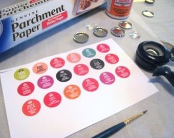 Bottle Cap Tutorial PDF Make and Sell Instant Download