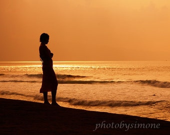Golden Girl summer fall Golden Sunset Hawaii Ocean orange sky tranquil serene photobysimone