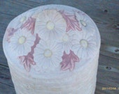 Ceramic Cookie Jar   Unfinished  Bisque