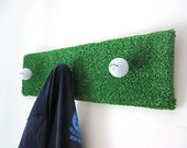 Golf / Upcycled Recycled / Garment Rack / Coat Rack / Man Cave / Made To Order