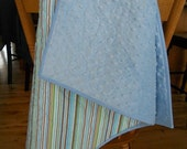 Going Out of Business. Baby Boy Minky Quilt