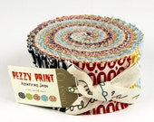 Pezzy Print by American Jane for Moda - Jelly Roll