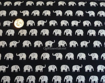 Japanese Elephants in Black - Cut Options Available