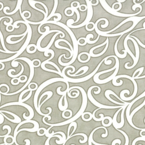 Ruby by Bonnie and Camille for Moda - Sublime in Grey - Fat Quarter