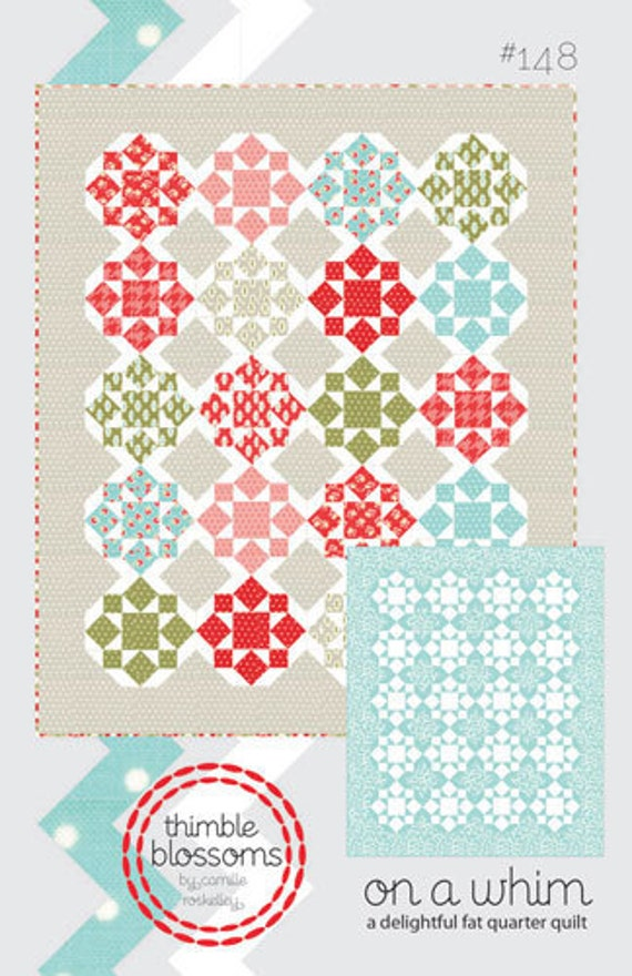 Thimble Blossoms - On A Whim Quilt Pattern