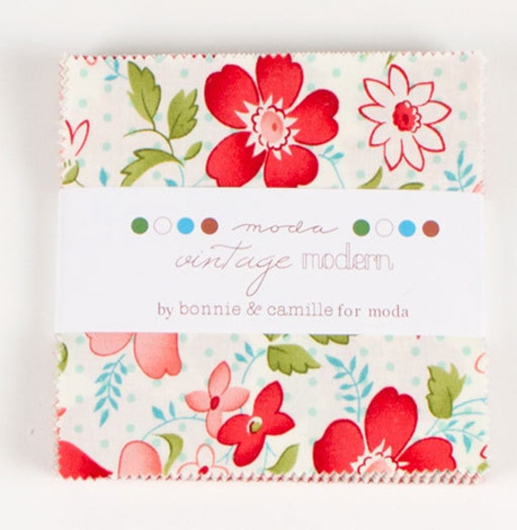 Vintage Modern by Bonnie and Camille for Moda - Two Charm Packs