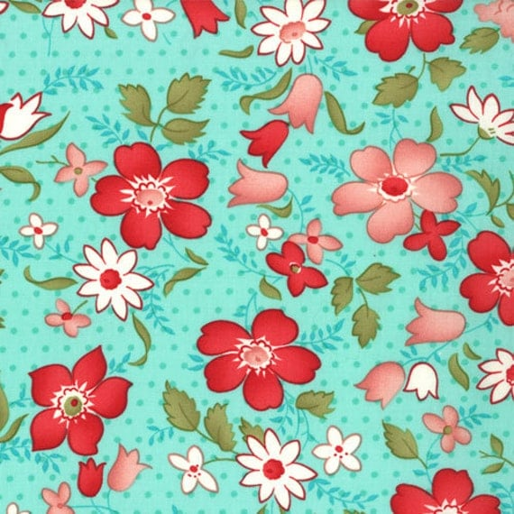 Vintage Modern by Bonnie and Camille for Moda - Vintage in Sky - 1/2 Yard