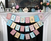 personalized birthday party banner