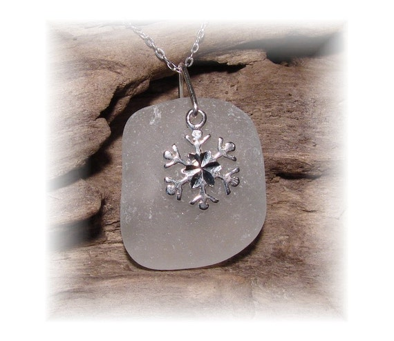 Lake Erie Beach Glass Necklace