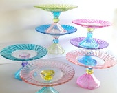 Hand Painted Pastel Cupcake Stand You Pick the Colors