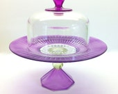 This Listing Is For Sue Please Do Not Buy  Cupcake Hand Painted Cupcake Stand and Dome