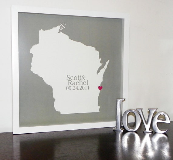 ... Map Any Location Unique Wedding Gift Custom Wedding Gift for Couple