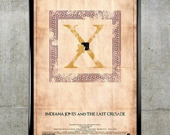 Indiana Jones and the Last Crusade 11x17 Movie Poster